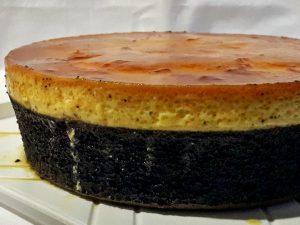 pastel imposible en olla express