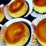 Chocoflan cupcakes